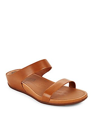 Banda Leather Slide Sandals
