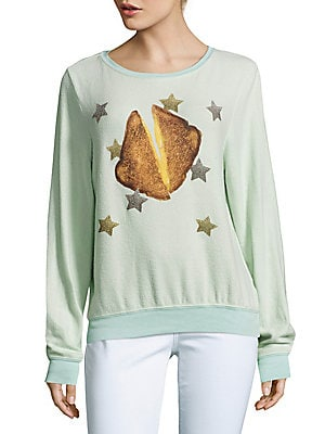Toast & Stars Graphic Pullover