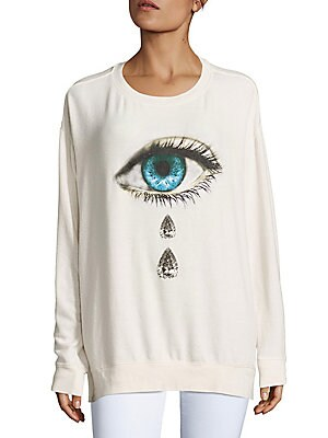 Teardrop Graphic Pullover