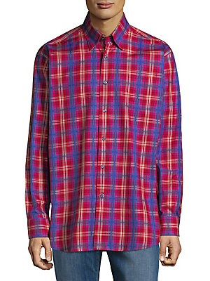 Sport Anderson Cotton Casual Button-Down Shirt