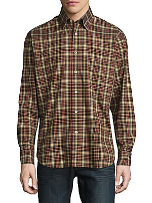 Anders Casual Chest-Pocket Sportshirt