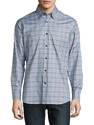 Anders Casual Checked Sportshirt