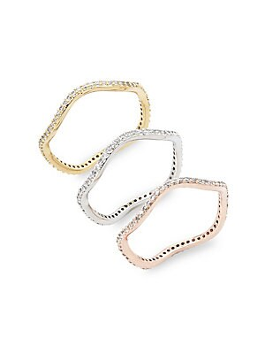 Studded Stackable Rings