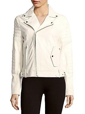 Lamb Leather Moto Jacket