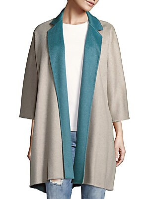Scalata Open-Front Cashmere Jacket
