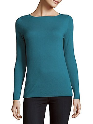 Solid Cashmere Pullover