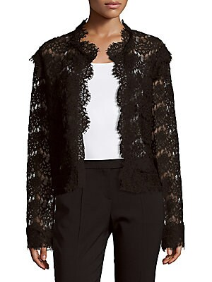 Solid Lace Jacket