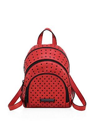 Sloane Mini Studded Leather Backpack