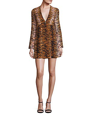 Tiger Silk Dress