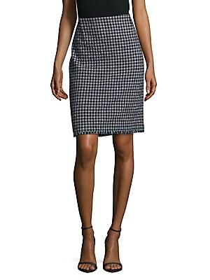 Fringed Banded Waist Skirt