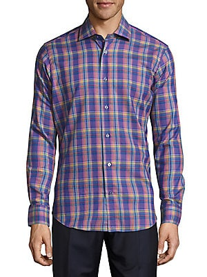 Crespi Casual Printed Sportshirt
