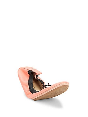 Solid Leather Ballet Flats