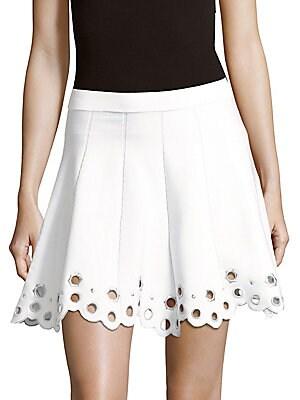 Josh Knit Pleated Skirt