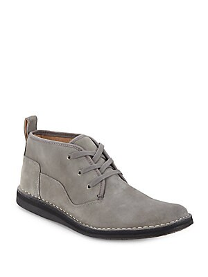 Star Leather Chukka Boots