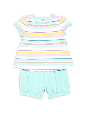 Baby's Two-Piece Top & Shorts Set