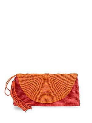 Camille Woven Tasseled Wallet