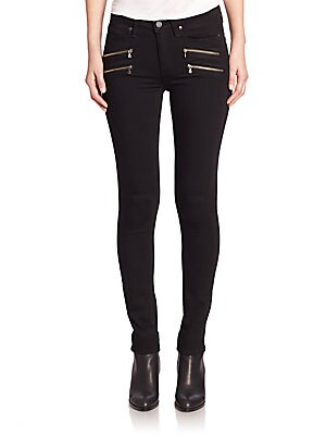 Edgemont Zip Pocket Transcend Ultra Skinny Jeans