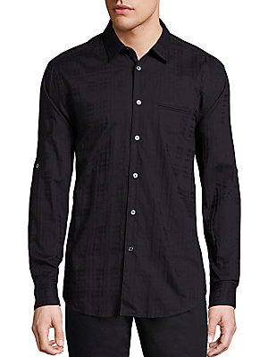 Cotton Slim Fit Sport Shirt