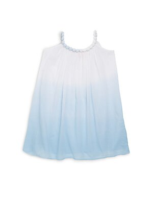Little Girl's & Girl's Halterneck Trapeze Dress
