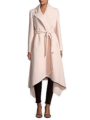 Notch-Lapel Virgin-Wool Coat