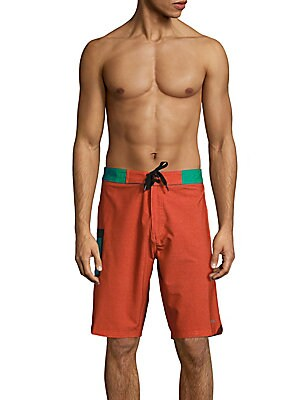 Colorblock Swim Shorts