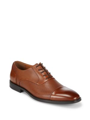 Leather Cap Toe Oxfords Kenneth Cole