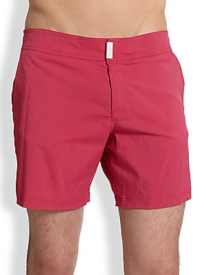 Merise Solid Swim Trunks