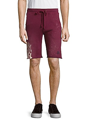 Cotton Drawstring-Waist Shorts
