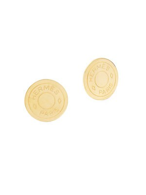 Click here for Vintage Gold Clou De Selle Earring prices