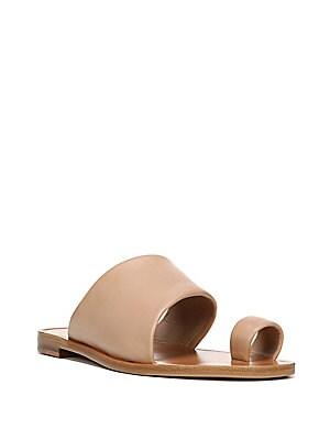 Elllo Leather Slides