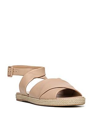 Iona Leather Espadrille Sandals