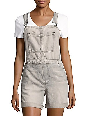 Cotton-Blend Textured Coverall