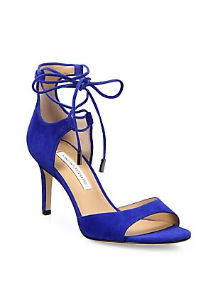 Rimini Suede Lace-Up Sandals