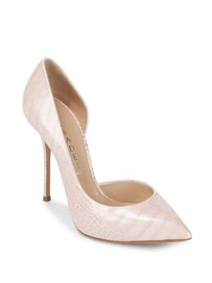 Funkydrill Leather Pumps Casadei