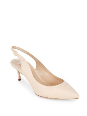Leather Ankle-Strap Stiletto Pumps Casadei