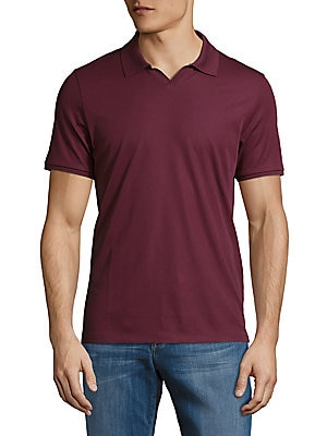 Port Solid Pima Cotton Polo