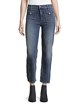 Patch Pocket Maverick Jeans