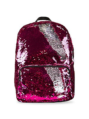 Magic Sequin Pink Backpack