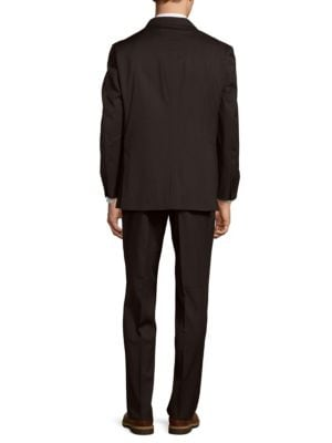 TOMMY HILFIGER Tailored Trim Fit Wool Suit
