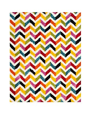 Rectangular Chevron Rug