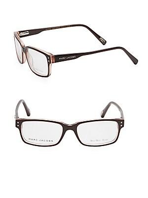 marc jacobs female 50mm square optical glasses