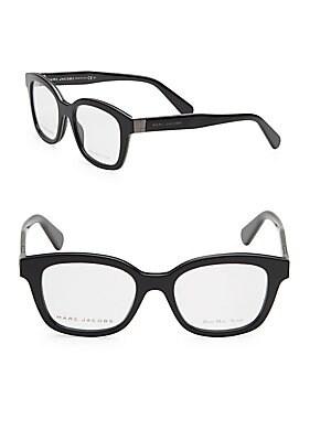 marc jacobs female 50mm cats eye optical glasses