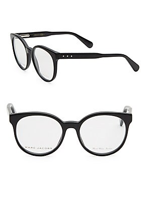 marc jacobs female 48mm cats eye optical glasses