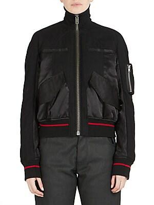 Long Sleeve Virgin Wool Jacket