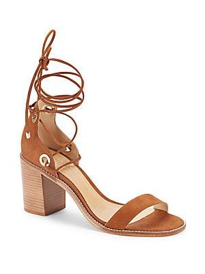Zion Lace-Up Leather Sandals