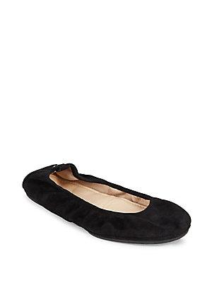 Stella Suede Ballet Flats