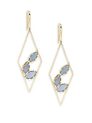 Diamond Prix Opal Drop Earrings