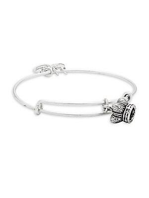 Crown-Charm Expandable Bracelet