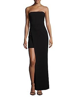 Demeyer Straight-Across Neckline Dress