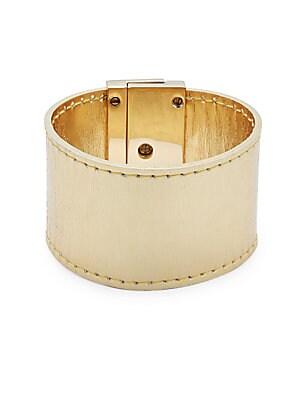 Leather Turn-Lock Bracelet